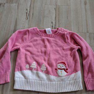 Gymboree 2T toddler knit pink sweater top shirt lo